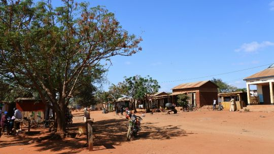 Image depicting the centre of Dongo village in Tanzania (Photo: Chih-Jung Lee)