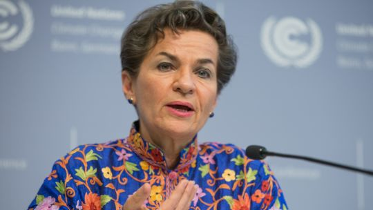 As executive secretary of the UN Framework Convention on Climate Change (UNFCCC), Christiana Figueres successfully charted the path to the historic 2015 Paris Agreement. She says global movements like#MeToo can empower women (Photo: UNclimatechange, Creative Commons via Flickr)