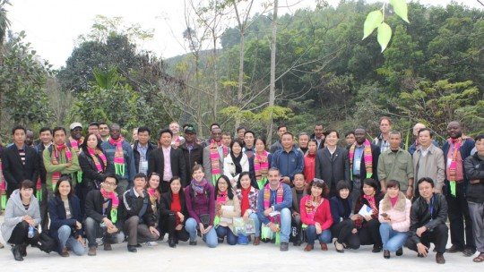 Participants from 26 countries attended the Forest Connect workshop (Photo: Hop Thinh)