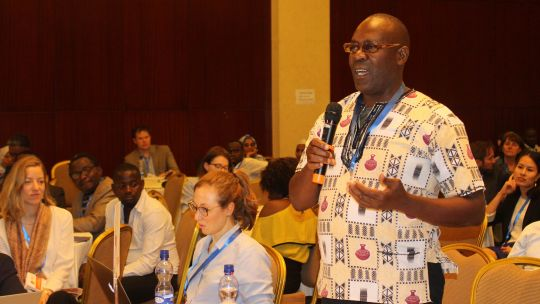 Noah Congo of the Zambia Community Based Natural Resources Management Forum