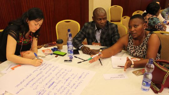 CBA13 Talanoa: discussing the issues (Photo: IIED)