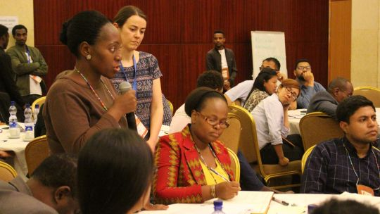 CBA13 Talanoa: reporting back (Photo: IIED)