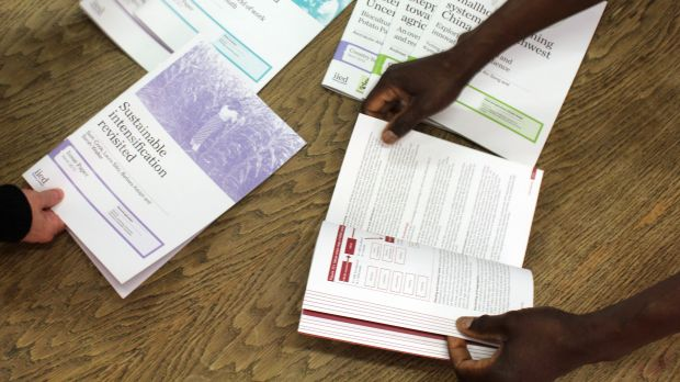 IIED's evidence-based knowledge products are peer reviewed to ensure consistent quality standards (Photo: Chris Brody)