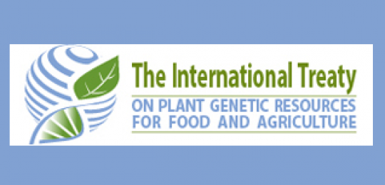 The logo of the International Treaty on Plant Genetic Resources for Food and Agriculture