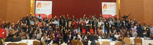 CBA13 participants say farewell - for now. (Photo: IIED)