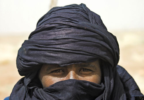 Tuareg man, northern Mali.
