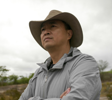 Fei Zheng, director of the company Mr Forest Ltda, Mozambique (photo: Tamarind Tree/IIED)